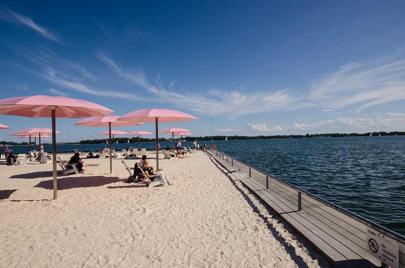 Sugar Beach in Toronto